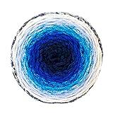 Fil Twist Cake Ball マクラメ 段染 カラフル 大容量 ケーキボール 綿糸 毛糸 グラデーションマルチカラー 250g, 約250m col.106 SCYarn