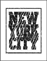 【FOX REPUBLIC】【ニューヨークシティー】 白マット紙(フレーム無し)A4サイズ