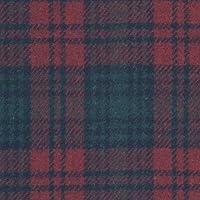 ウール【18950】【柄物】【ウール生地】カラー全3色【50cm単位 切り売り】【ウールツイード】 34 ワインレッド/グリーン
