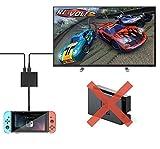 Nintendo switch Dockアダプタ 持ち運びに便利なニンテンドースイッチドック 変換アダプタ(Nintendo SwitchをTVに出力できる小型アダプタ) U-Partner