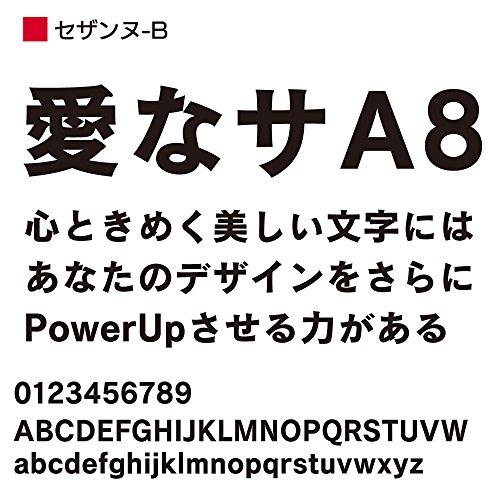 OpenType セザンヌ Pro-B for Win [ダウンロード]