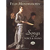 Songs for Voice and Piano (Dover Song Collections)