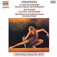 Stravinsky: Le sacre du printemps/Jeu de cartes