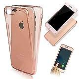 Vandot iPhone 6 Plus ケース/ 6S Plus ケース 5.5 インチ 高級 薄型 クリア ソフト シリコン TPUケース 前後カバー タッチ操作可能 完全保護 アイフォン6spl