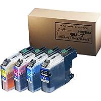 【横トナ オリジナル品】【ICチップ搭載】Brother(ブラザー) LC117/115-4PK 4色パック 【互換インクカートリッジ】(LC113-4PK大容量版) 対応機種:プリビオ NEOシリーズ DCP-J4210N / MFC-J4510N