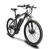 Extrbici T8 自転車 マウンテンバイク mtb シマノ21段変速 26インチタイヤ アルミフレーム 240ワット バッテリー 48V10AH 通勤通学用 (ゲレー(灰色))