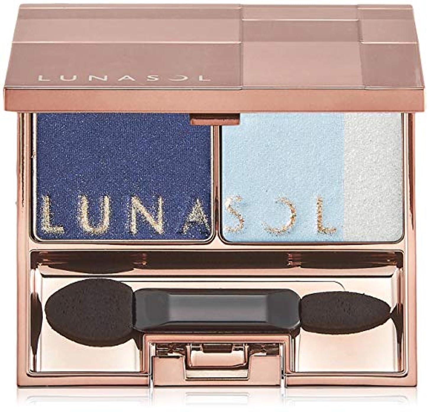 外側熟考する鏡ルナソル スパークリングライトアイズ 01 Blue Sparkling アイシャドウ
