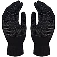 Mens&Womens Screen Knitted Non-Slip Gloves Soft Woolen Winter Gloves Mittens