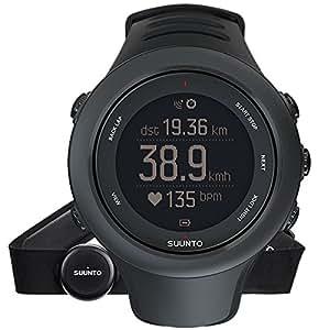 SUUNTO(スント) AMBIT3 SPORT BLACK (HR) 【日本正規品】 時刻表示 GPS コンパス 心拍計 Bluetooth [メーカー保証2年]