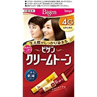 ホーユー ビゲン クリームトーン 4G (自然な栗色) 1剤40g+2剤40g