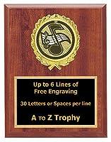 音楽注意Plaque Awards 7x 9木製カラオケSinging Trophy学校Choir Trophies Free Engraving