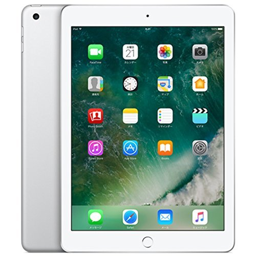Apple iPad Wi-Fi 128GB シルバー 2017年春モデル MP2J2J/A