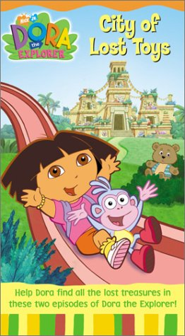 Dora the Explorer: City of Lost Toys [VHS] [Import]