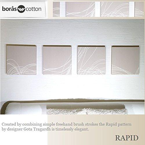 ファブリックパネル boras RAPID 30×30×2.5cm 4set ベージュ 復刻版限定品 ボロスコットン 雑貨 インテリアパネル ラピッド 軽量厚型設計 同梱可