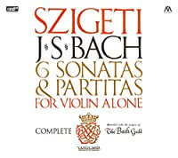 J.S.バッハ : 無伴奏ヴァイオリンのためのソナタとパルティータ BWV1001~1006 (J.S.Bach : 6 Sonatas & Partitas for Violin Alone / Szigeti) [2XRCD]