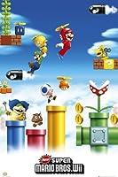NEWスーパーマリオブラザーズWii(MARIO & LUIGI)《GBA022》ポスター☆ゲームキャラクターグッズ(POSTER)通販☆