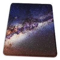 天の川銀河 恒星 天体 マウスパッド ゲーミング オフィス最適 高級感 おしゃれ 防水 耐久性が良い 滑り止め ゴム底 複数サイズ