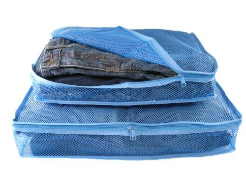 JTB 衣類パッカー2点セット ブルー 687905
