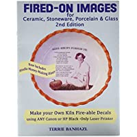 Heirloom Ceramics MS BOOK Press Fired-On Images Booklet, 20 Pages, 0.6cm Height, 23cm Width, 30cm Length