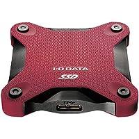 I-O DATA USB 3.1 Gen 1対応ポータブルSSD 240GB 赤 SSPH-UT240R