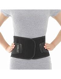 FINALIST 腰痛ベルト 腰痛 コルセット 重度の腰痛に 男女兼用 ブラック (S-Mサイズ)