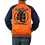 大きいサイズ メンズ スカジャン ドラゴンボール 亀仙人 刺繍 FRE3506K GRE1502k 4L 亀仙人オレンジ