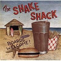 Shake Shack by David Carter Brown–10x 10インチ–アートプリントポスター LE_480531