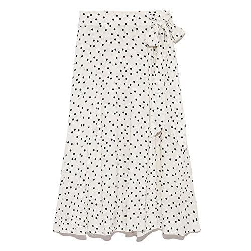 [ミラオーウェン]ミディ丈巻きスカート 09WFS181023  ウィメンズ WHT 日本 0-(日本サイズ7 号相当)