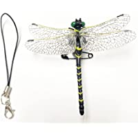 【安全ピン付き】オニヤンマ トンボ おにやんま 蜻蛉 安全ピン付き とんぼ 昆虫 動物 虫除け 模型 家 おもちゃ リア…