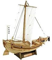 WoodyJOE Higaki Kaisen Edo Period Sailing Ship (1:72 Scale) [並行輸入品]