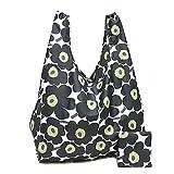 (マリメッコ) バッグ 38695 030 SMARTBAG MINI-UNIKKO Shopping Tote ウニッコ 折りたたみエコバッグ/ショルダーバッグ[並行輸入]