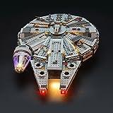 スター・ウォーズ ミレニアム・ファルコン ブロック組み立てモデル 対応 Lightailing LEDライトセット ? レゴ 75105 対応LEDライトキット (本体別売)