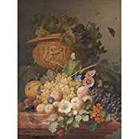 Eelkema Still Life With Flowers And Fruit Painting Unframed Wall Art Print Poster Home Decor Premium まだ生活フラワーズフルーツペインティング壁ポスターホームデコ