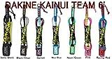 ダカイン リーシュコード DAKINE KAINUI TEAM 6' サーフィン リーシュコード レギュラー 6' (Pink)