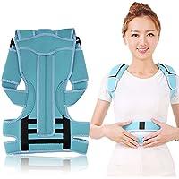 Zyary(TM) 背中の肩の姿勢のブレースベルトの矯正肩のサポートバンドの正しい姿勢の矯正ベルトの調節可能なS / M / Lヘルスケア