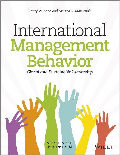 Download International Management Behavior: Global and Sustainable Leadership 1118527372
