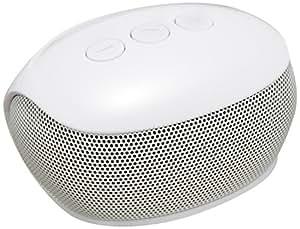 ELECOM Bluetooth TV用 コンパクトスピーカー Delay less Wireless対応 ホワイト LBT-SPP20TVWH