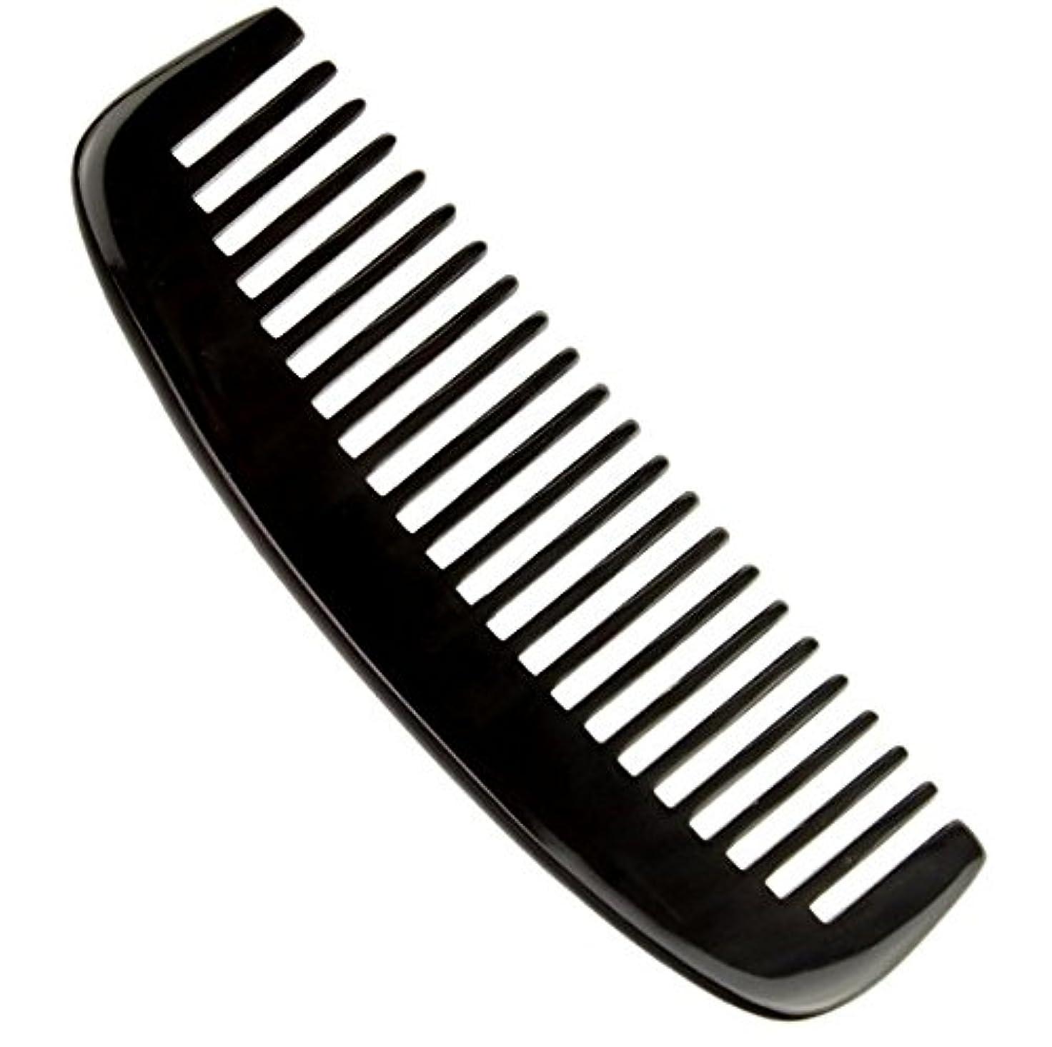 バストねばねば突っ込む櫛型 粗歯 プロも使う牛角かっさプレート マサージ用 血行改善 高級 天然 静電気 防止 美髪
