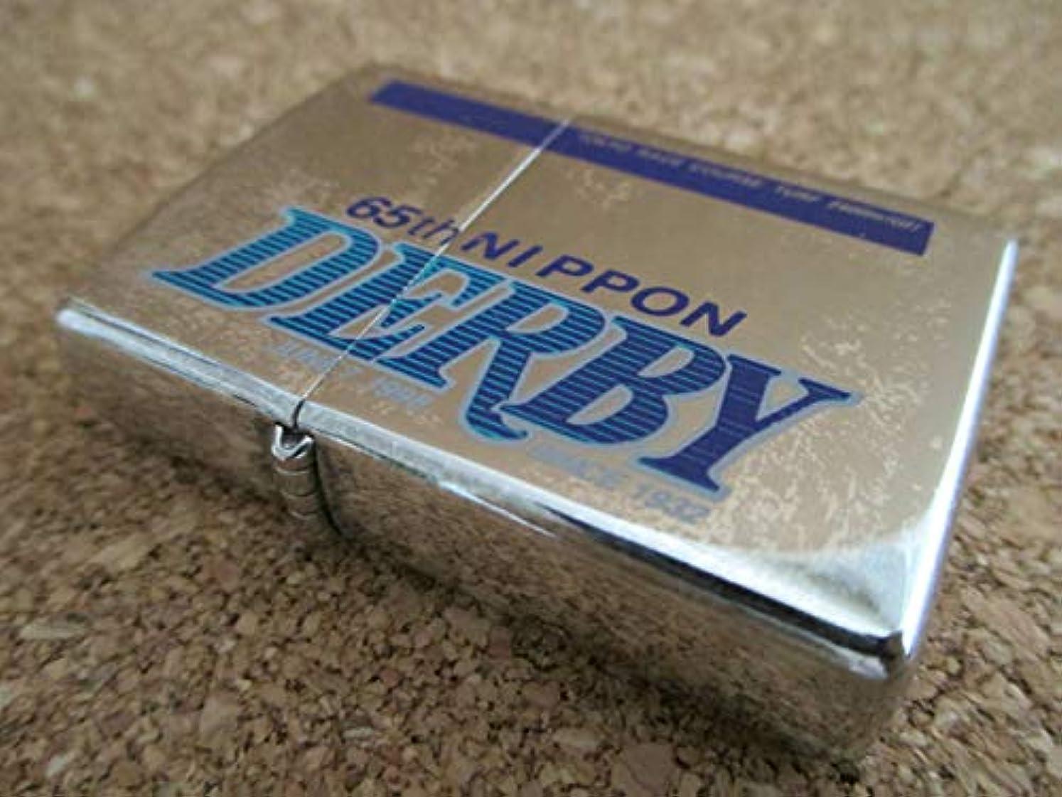 音楽を聴くキノコしなければならないZIPPO 『65th NIPPON DERBY JUNE 7.1998 日本ダービー』1997年8月製造 TOKYO RACE COURSE TURF 2400m オイルライター ジッポー 廃版激レア