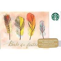 スターバックス スタバ カード 2015 ホリデー48 ④『鳥の羽毛』北米版