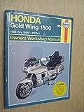 Honda Gl1500 Gold Wing Owners Workshop Manual: Models Covered : Honda Gl1500 Gold Wing, 1502 Cc. 1988 Through 1998 (Haynes Owners Workshop Manuals)