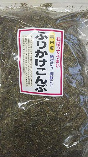 国産昆布使用 ふりかけ昆布 1kg 粘ってうまい 納豆やご飯に