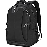 Laptop Backpack 17.3 Inch Travel Anti-Theft Waterproof School Backpack Business College Large Capacity Gaming Laptop Backpacks USB Charging Port for Men Women