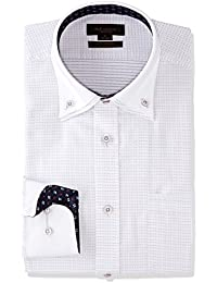 [タカキュー] m.f.editorial 形態安定 スリムフィット 2枚衿ドゥエボタンダウン張替シャツ メンズ 110214619750833