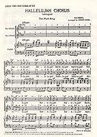 G.F. Handel: Hallelujah Chorus (SA) / ゲオルク・フリードリヒ・ヘンデル: ハレルヤ 合唱 (女声2部合唱)