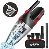 Oasser ハンディクリーナー 掃除機 車用掃除機 小型 乾湿両用 コードレス 充電式 20分間連続稼働 家庭用 V1
