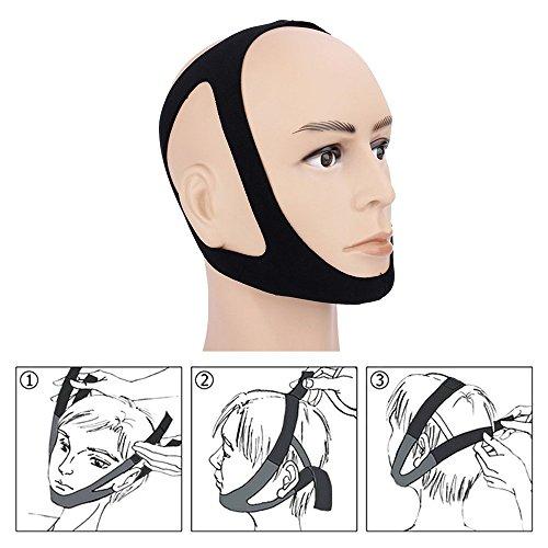 Bukmt いびき防止 顎サポーター いびき防止ベルト 安眠グッズ 不眠解消 快眠 サポーター 予防 鼻呼吸矯正 無呼吸症候群 快適な眠りへ