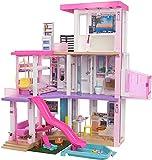 バービー(Barbie) ドリームハウス ライトとサウンドでたのしむ プールとエレベーターつきのおうち 【着せ替え人形】【ハウス・アクセサリー付き】【3歳~】 GRG93 ピンク