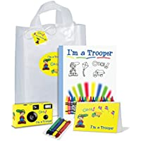 I ' m a Trooper Boy黄色でギフトバッグ–Full Of Goodies。Be Brave。Be Strong。( pkg116)