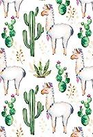 lfeey水彩サボテンWild Cactus写真バックドロップ